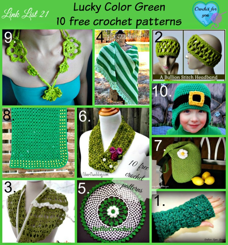 Link list 21 Lucky Green Color