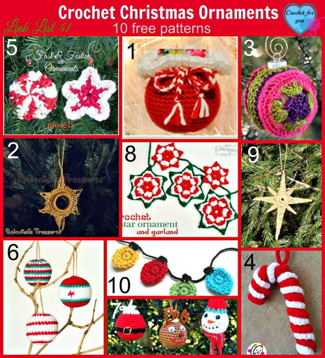 Crochet Christmas Ornaments
