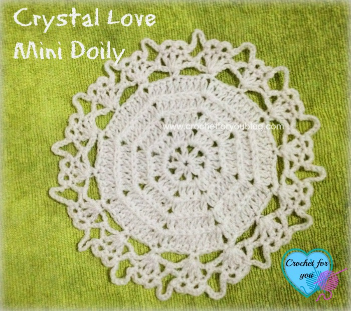 Crystal Love Mini Doily - free pattern