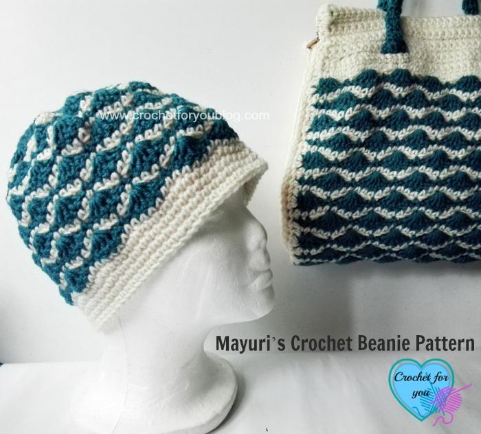 Mayuri's Crochet Beanie Pattern