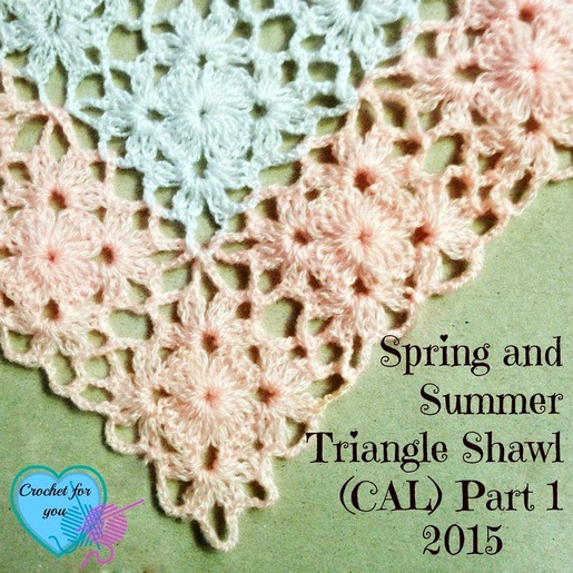 Spring and Summer Triangle Shawl (CAL) 2015