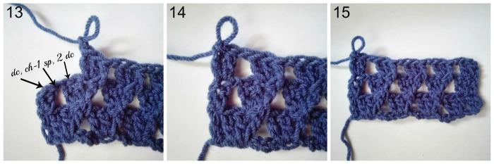 Stitch Tutorial for Pastel Peaks Blanket