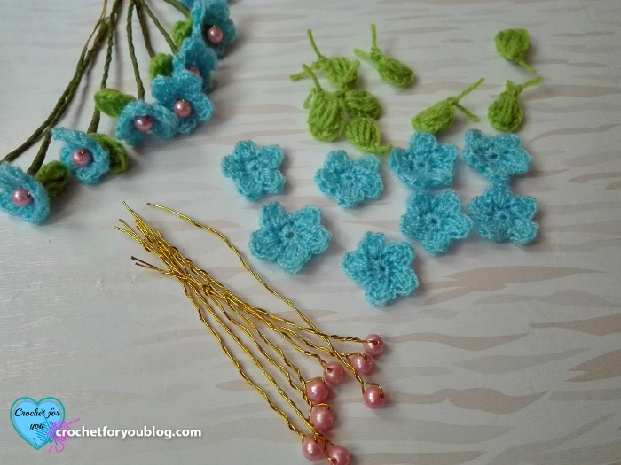 Crochet Flower Hairband Free Crochet Pattern
