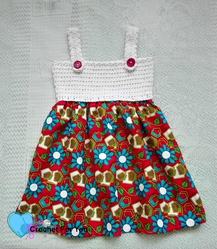 Simple Summertime Baby Sundress Free Crochet Patter