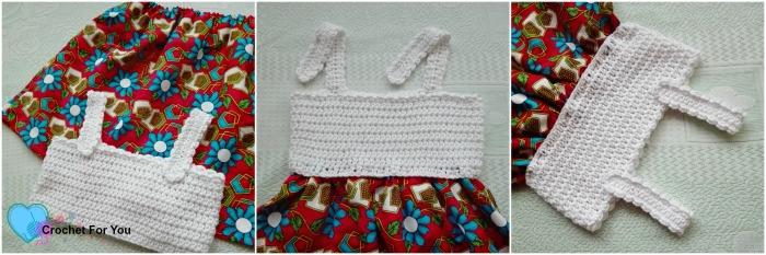 Simple Summertime Baby Sundress Free Crochet Pattern