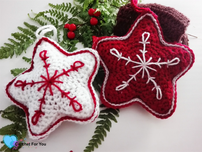 Christmas Ornament Mini CAL – Christmas Crochet Star