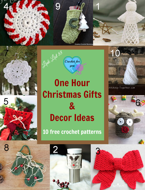 One hour Christmas Gifts & Decor Ideas