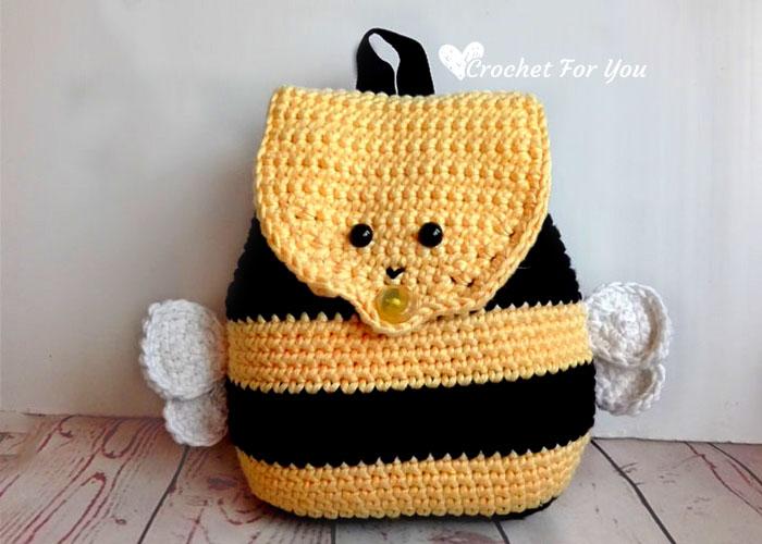 Little Bumble Bee Amigurumi Free Crochet Pattern | Crochet bee ... | 500x700