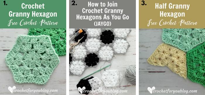 Crochet Granny Hexagon