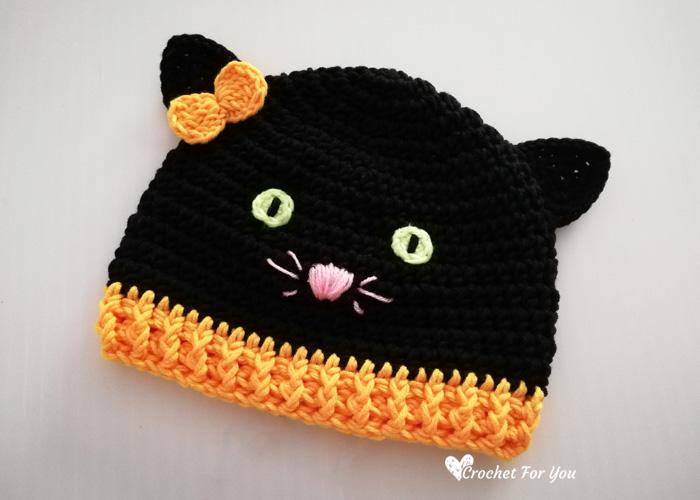 Free Crochet Amigurumi Halloween Black Cat Pattern | Halloween crochet  patterns, Crochet cat pattern, Crochet cat | 500x700