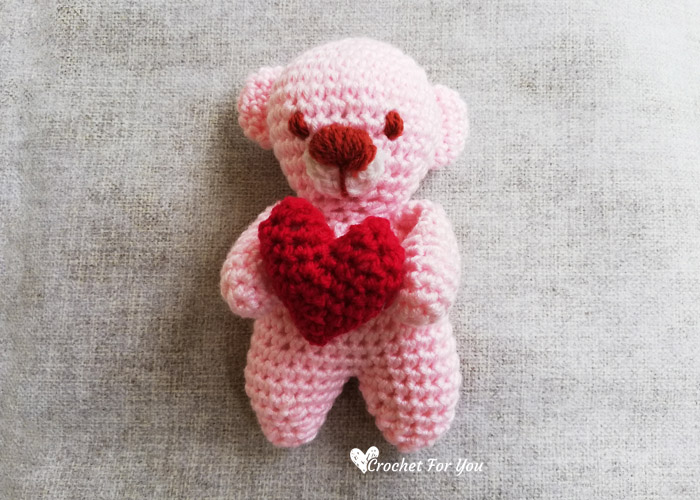 Free Crochet Bear Patterns - Amigurumi Patterns ⋆ DIY Make To | 500x700