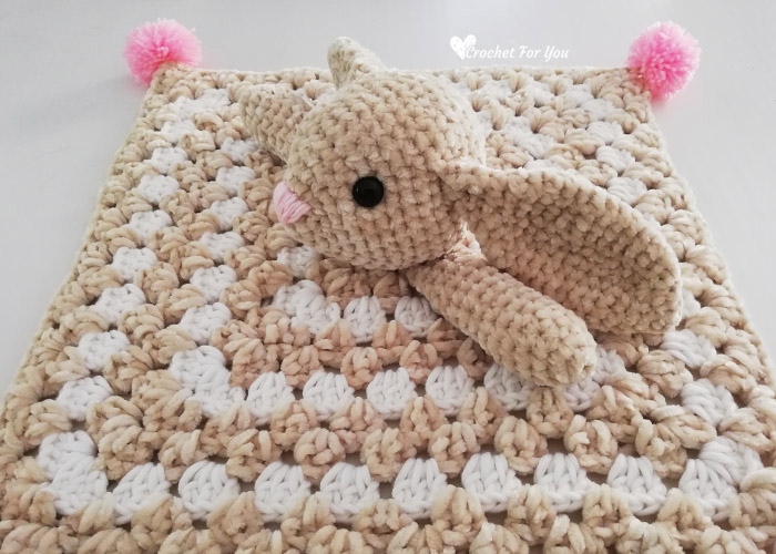Crochet for you - Haven't you made Velvet Bunny Amigurumi ... | 500x700
