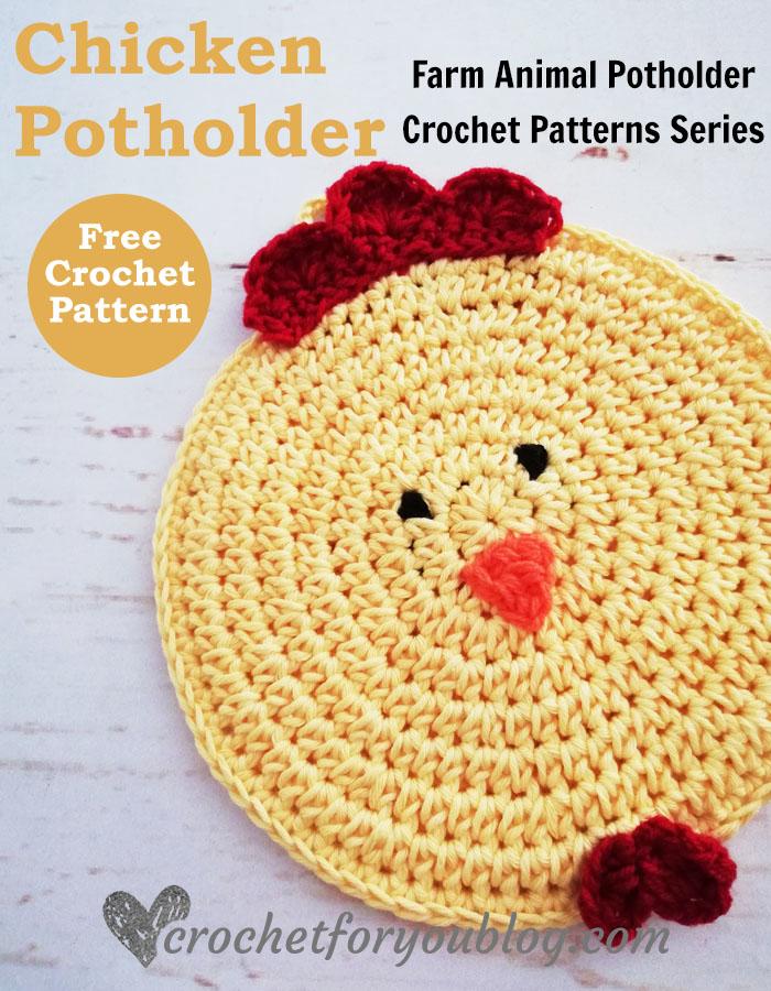 18 FREE crochet chicken patterns! – The Crochet Dude | 900x700