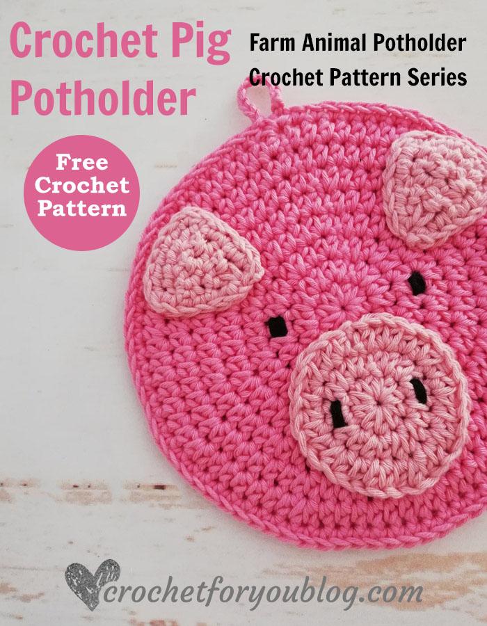 Mini Amigurumi Pig - A Free Crochet Pattern - Grace and Yarn | 900x700