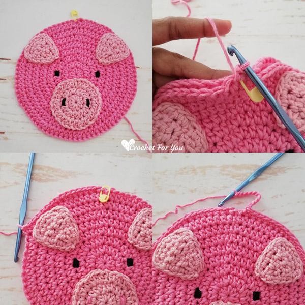 Miss Petunia Pig - Cute & Cozy Crochet | 600x600
