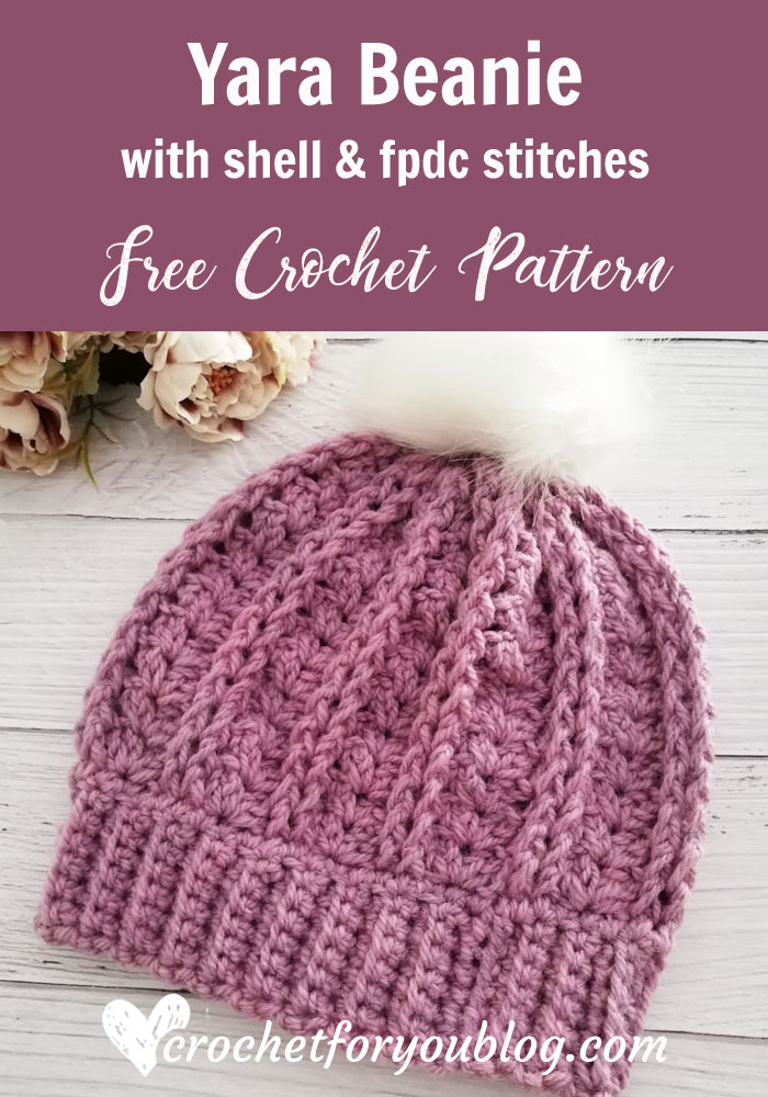 Crochet Yara Beanie Free Pattern
