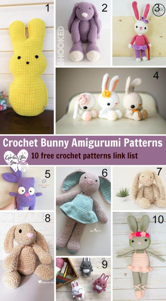 Crochet Bunny Amigurumi Patterns