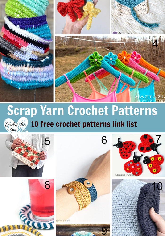 Scrap Yarn Crochet Patterns