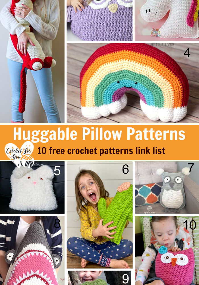 Crochet Huggable Pillow Patterns