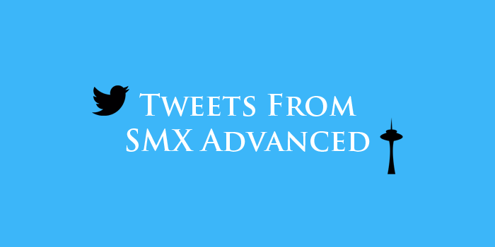 smx advanced tweets