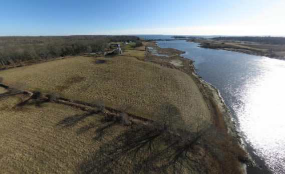 From Above: Avalonia's Wequetequock Cove Preserve