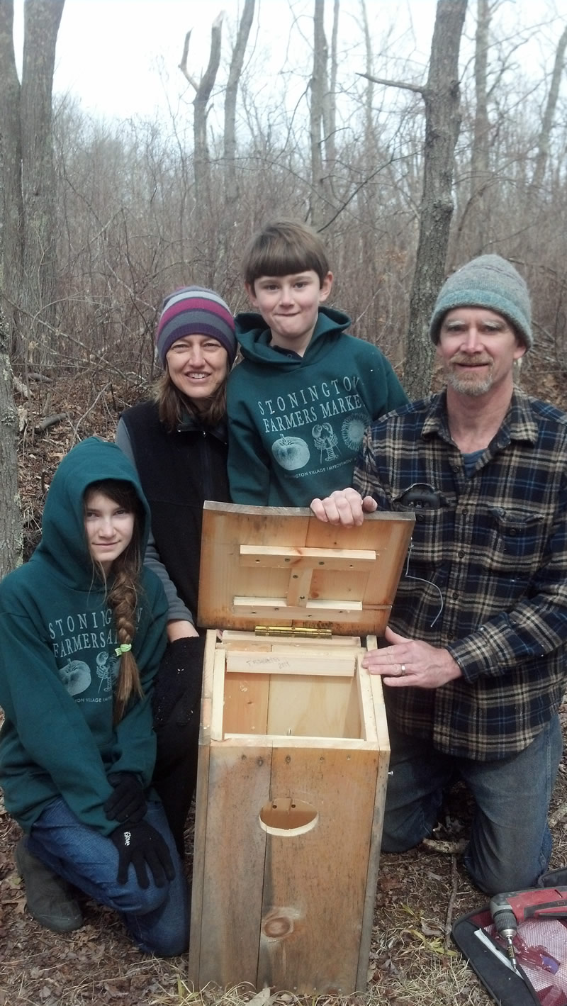 Making Wood Duck Boxes For The Anguilla Brook Preserve Was A Family Effort