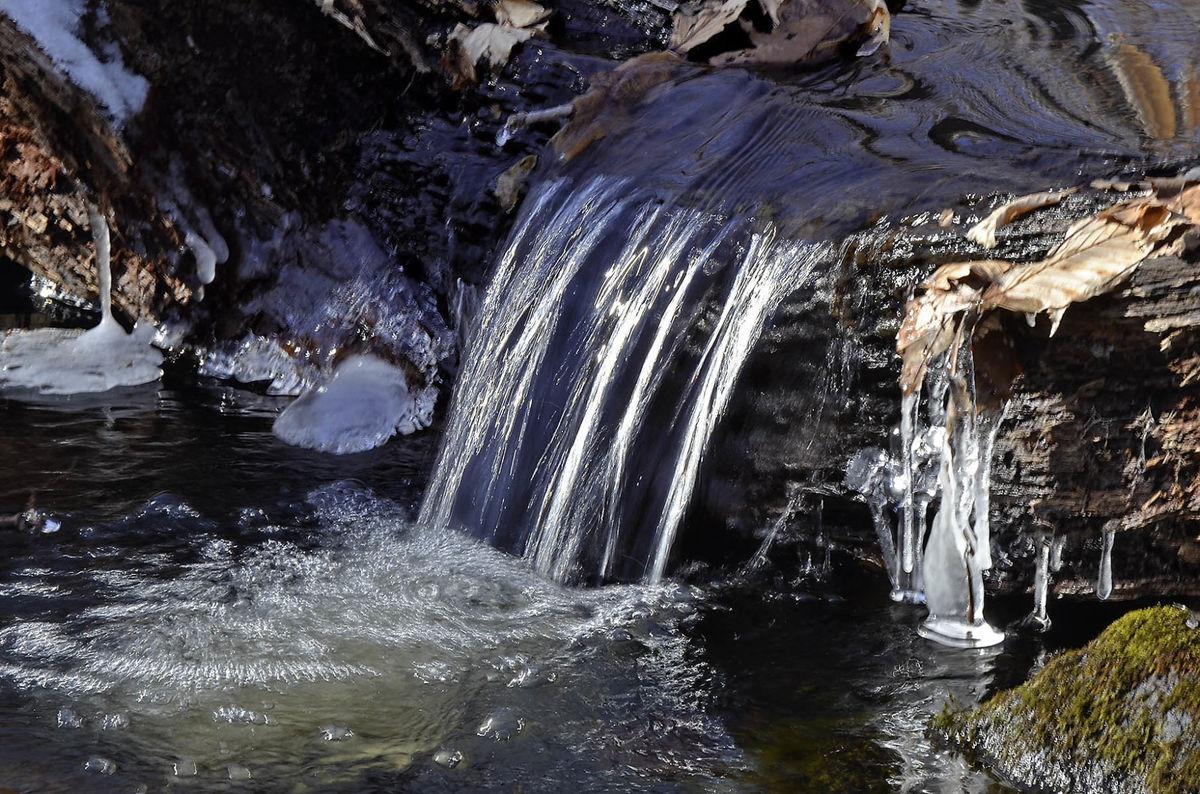 Bf Winter Waterfall