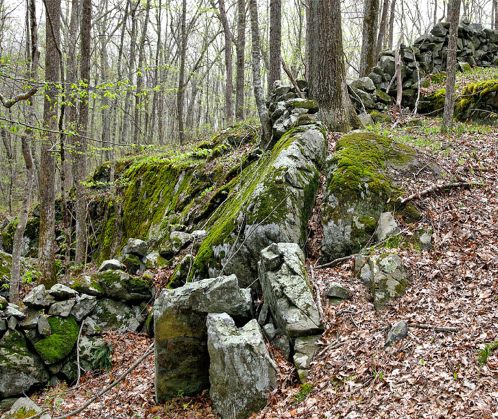 Boyd Ridge And Stone Walls