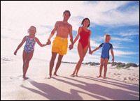 proteção solar das crianças