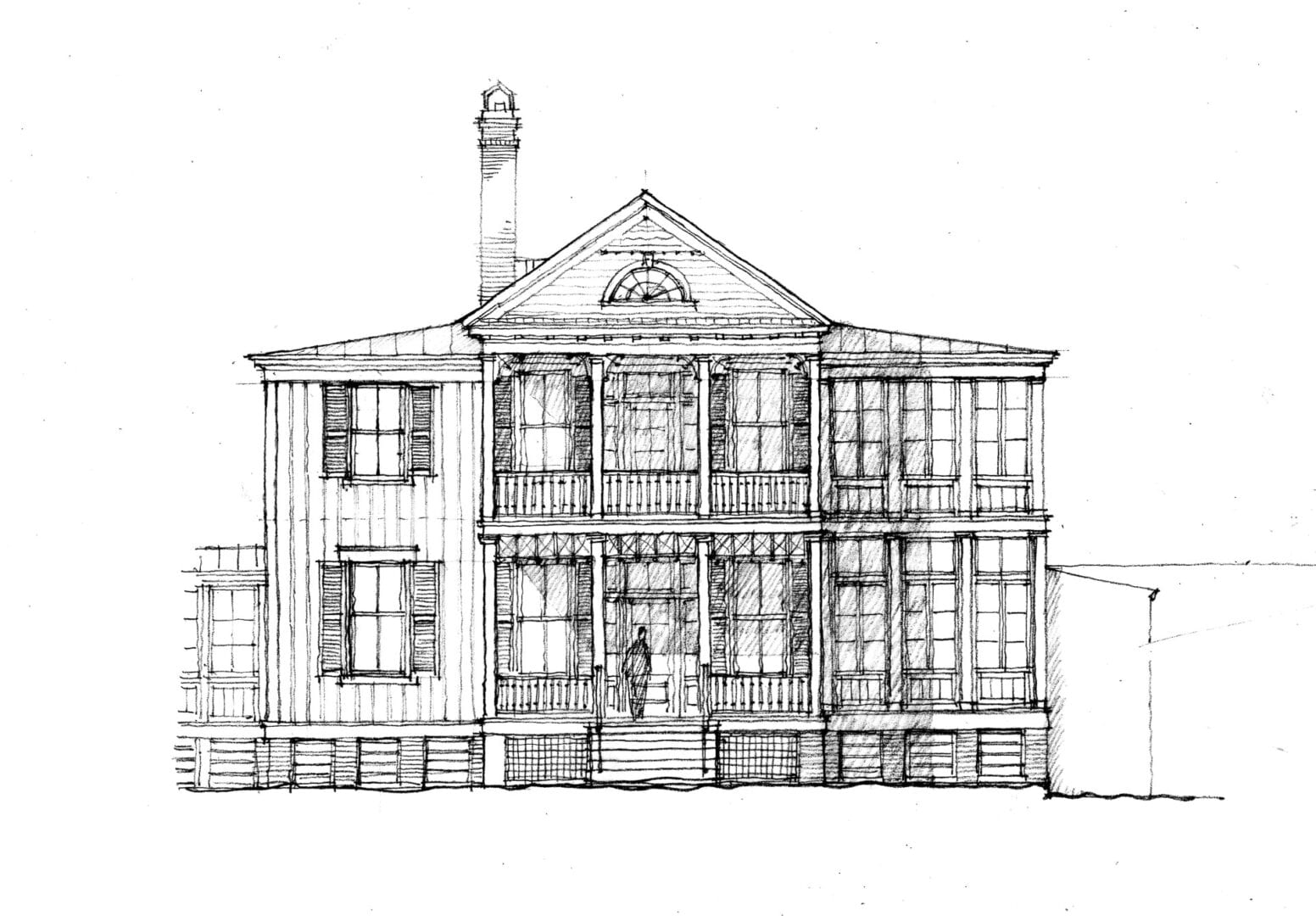 Southern Living - Front Elevation