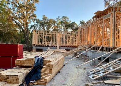 front framing early