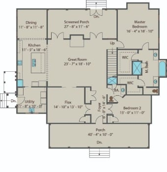 Gilliam Springs - 1st Floor 350
