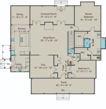Gilliam Springs - 1st Floor 350