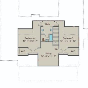 Gilliam Springs - 2nd Floor 350
