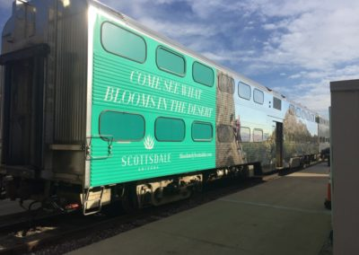 Scottsdale Train Wrap 2018