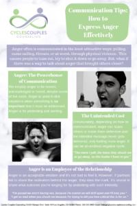 Communication Tips Anger