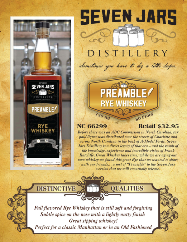 Preamble Rye Whiskey