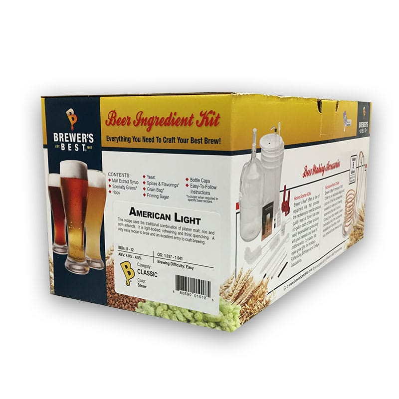 Brewer's Best Ingredient Kit American Light
