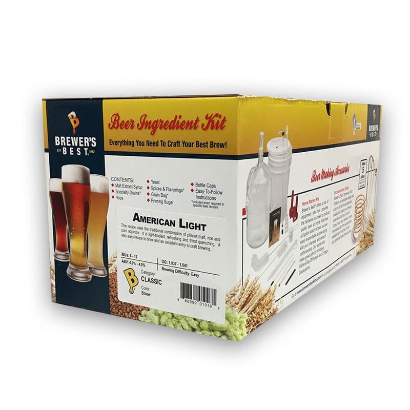 Brewer's Best Ingredient Kit American Light