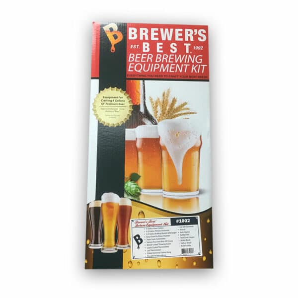 Brewers Best Beer Home Brewing Equipment Kit