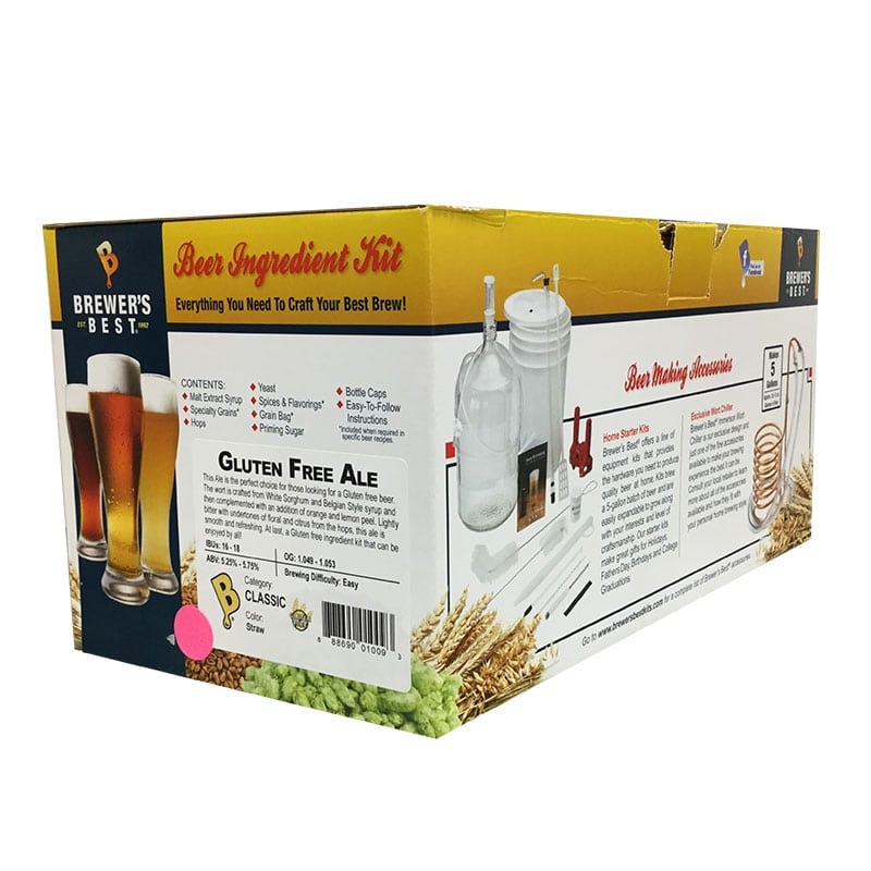 Brewer's Best Ingredient Kit Gluten Free Ale