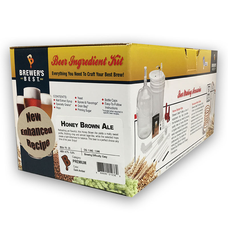 Brewer's Best Ingredient Kit Honey Brown Ale