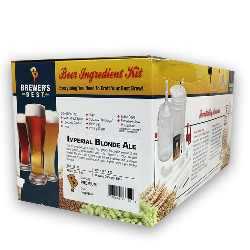 Brewer's Best Ingredient Kit Imperial Blonde Ale