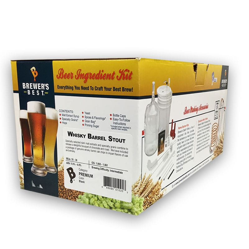 Brewer's Best Ingredient Kit Whiskey Barrel Stout