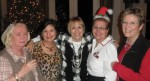 Stephanie Dahl, Liz Morales Jauer '69 BA, Judy Trevino Rath '69 BA, Ellen Kennedy Franckowiak '69 BA, and Judy Patton Crane '69 BA.