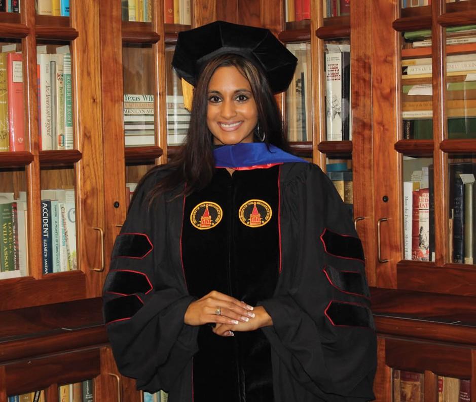 UIW awards 200th Ph.D.