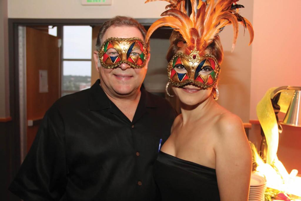 Pictured (L-R) Development Board Member Gary Joeris and wife, Maria Antoinette.