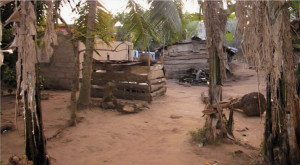 The village of Awuku Gua in Ghana, Africa.