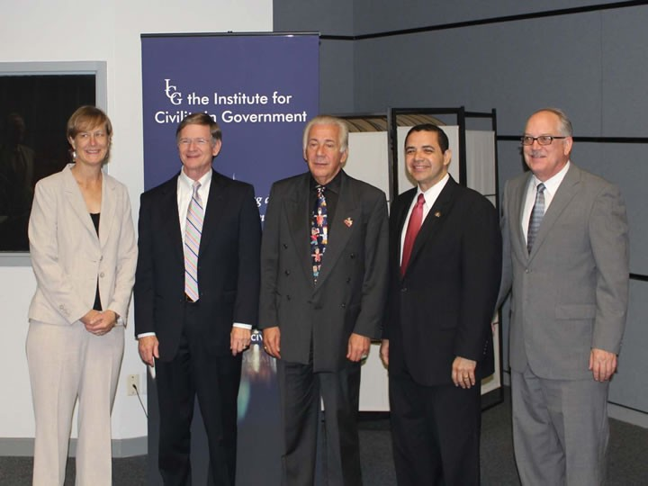 UIW students get an opportunity to meet with U.S. Congressmen