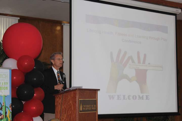 UIW hosts Lifelong Health, Fitness, and Learning Through Play Conference